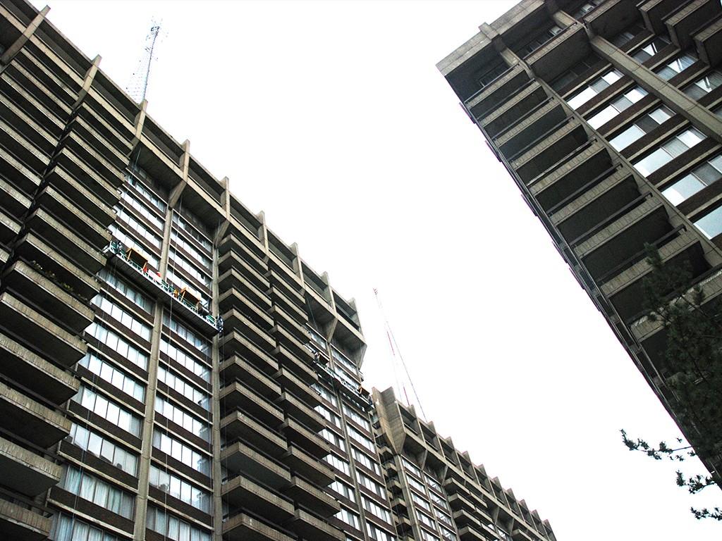 Les Appartements Rockhill / Réfection du béton